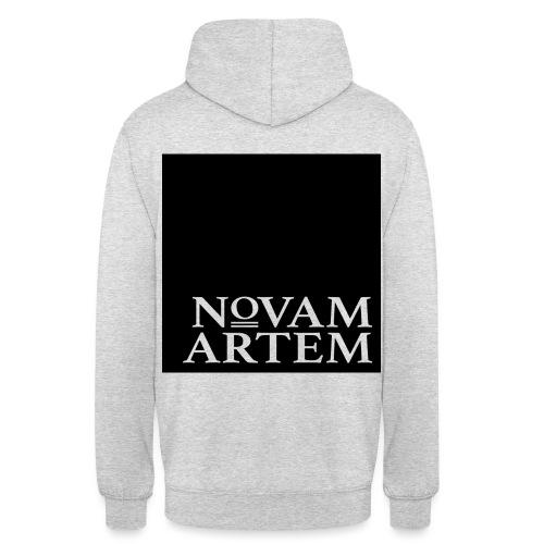 NOVAM ARTEM BLACK SQUARE - Hættetrøje unisex