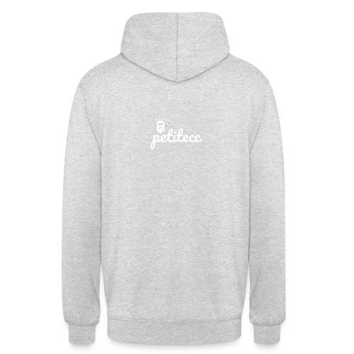 PETITECC - Sweat-shirt à capuche unisexe