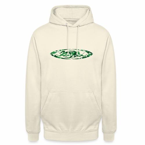 2wear original logo cammo green - Hættetrøje unisex