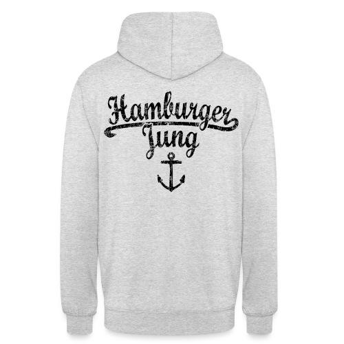 Hamburger Jung Klassik (Vintage Schwarz) Hamburg - Unisex Hoodie