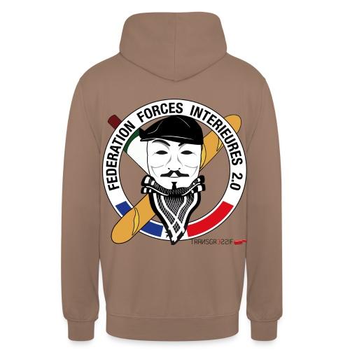 FFi Anonymous - Sweat-shirt à capuche unisexe