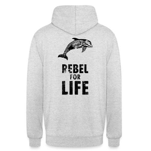 extinction rebellion just rebel - Unisex Hoodie