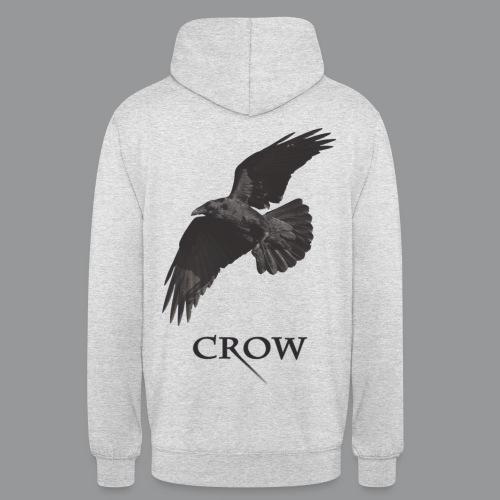Crow - Sweat-shirt à capuche unisexe