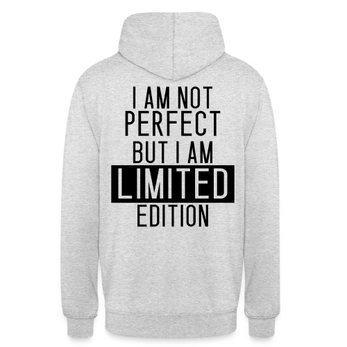 LIMITED EDITON1 png - Unisex Hoodie