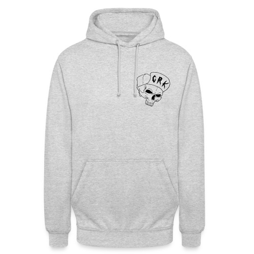 CRK logo - Sweat-shirt à capuche unisexe