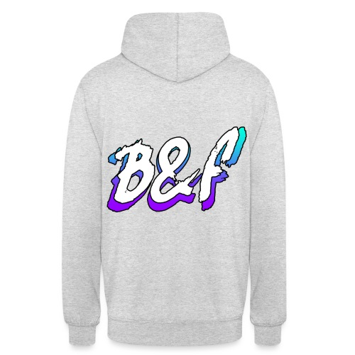 Purple and Blue Fade - Unisex Hoodie