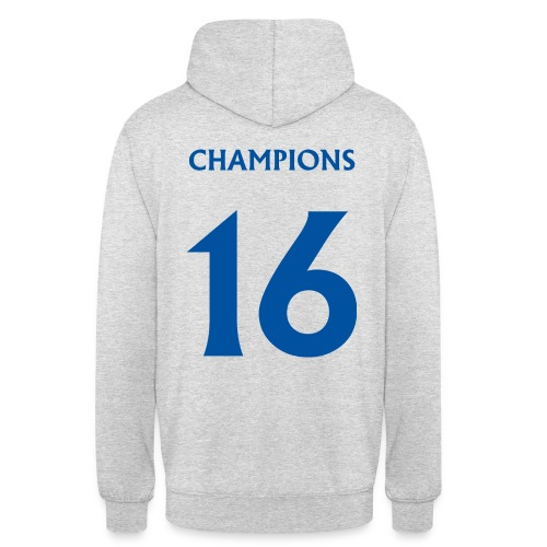 CHAMPS16BLUE png - Unisex Hoodie