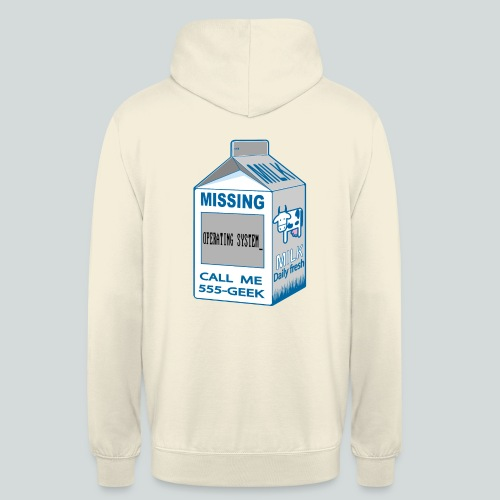 Missing : Missing Operating system_ - Sweat-shirt à capuche unisexe