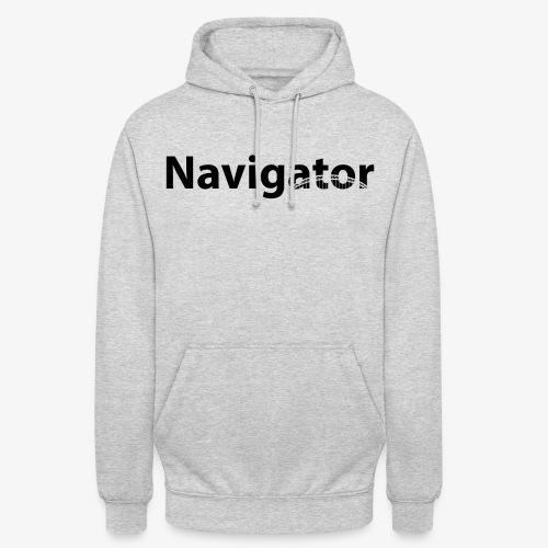 Navigator VIO combinatie zwart - Hoodie unisex