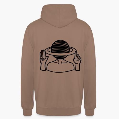 Saturne Dans La Tête - Sweat-shirt à capuche unisexe