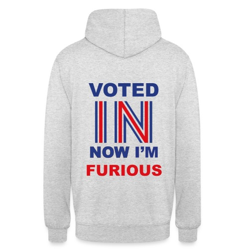 Voted max size - Unisex Hoodie