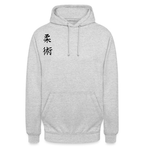 jiu-jitsu på japansk og logo - Hættetrøje unisex