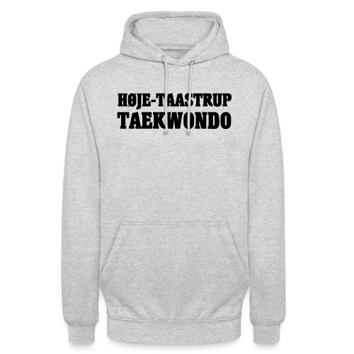 Høje-Taastrup Front Tryk - Hættetrøje unisex