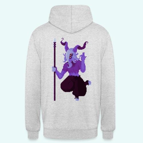 666 - Sweat-shirt à capuche unisexe