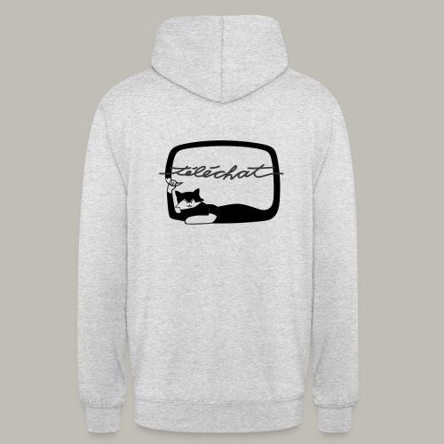 Téléchat - Sweat-shirt à capuche unisexe
