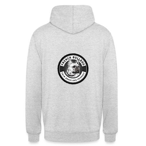 Calme & Brave - Sweat-shirt à capuche unisexe