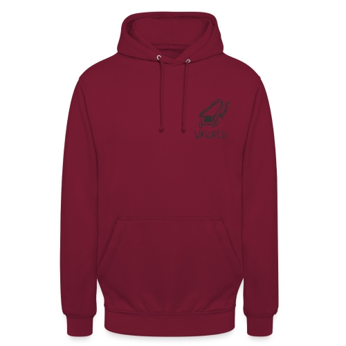 watched black logo - Sweat-shirt à capuche unisexe