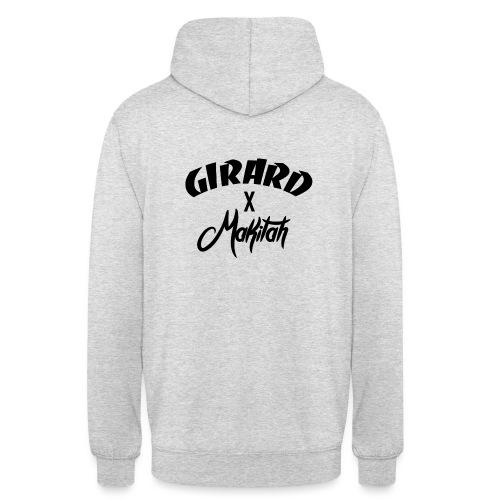 MKTH x GIRARD - Sweat-shirt à capuche unisexe