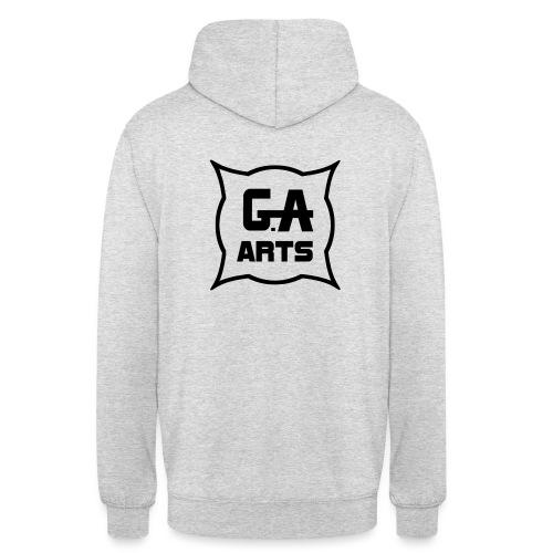 G.A.Arts - Sweat-shirt à capuche unisexe