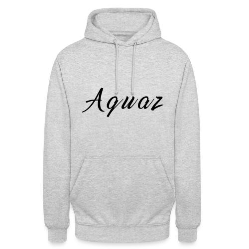 Aquaz Schwarz png - Unisex Hoodie