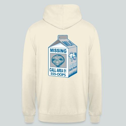 Missing: alien - Sweat-shirt à capuche unisexe