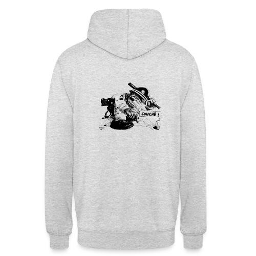 repression colonisation - Sweat-shirt à capuche unisexe