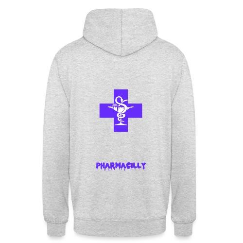 Farmacia TEXT png - Sweat-shirt à capuche unisexe