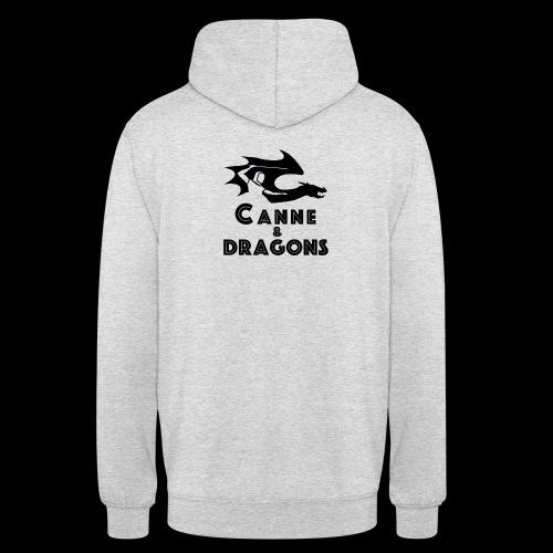 logoC D N B2 - Sweat-shirt à capuche unisexe