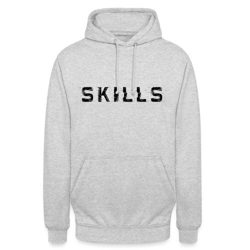 skills cloth - Felpa con cappuccio unisex