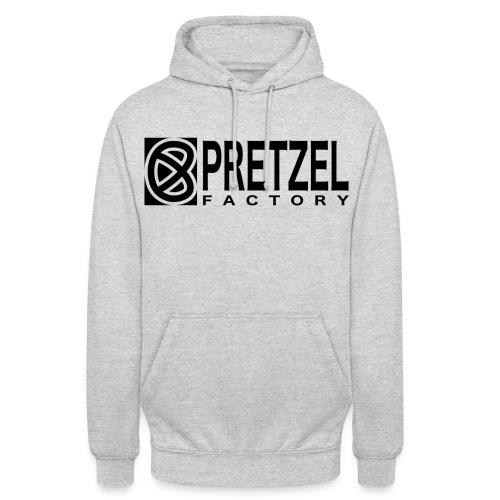 Pretzel Factory Logo Noir - Sweat-shirt à capuche unisexe