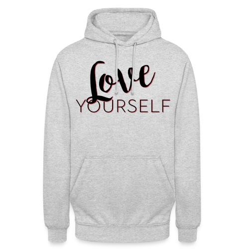 Love Yourself -Schriftzug Pascal Voggenhuber - Unisex Hoodie