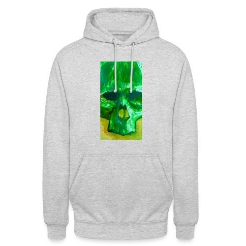 Green Skull - Hoodie unisex
