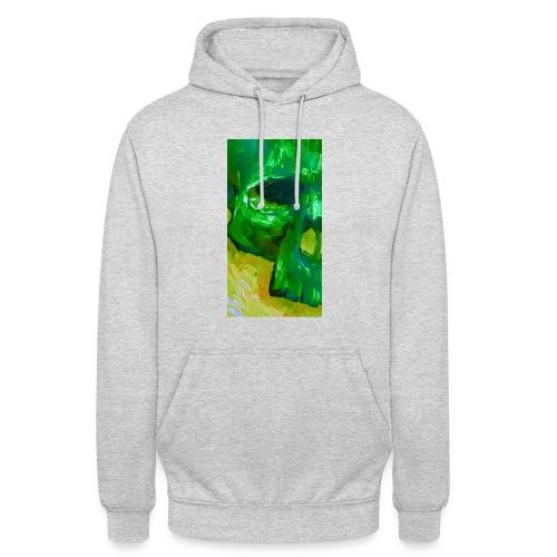 Green Skull #2 - Hoodie unisex