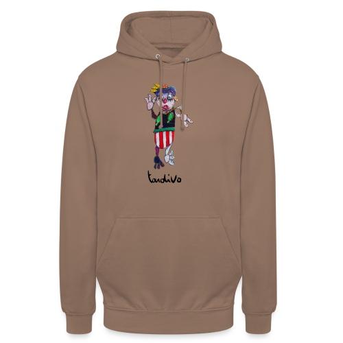 Tardivo - Sweat-shirt à capuche unisexe