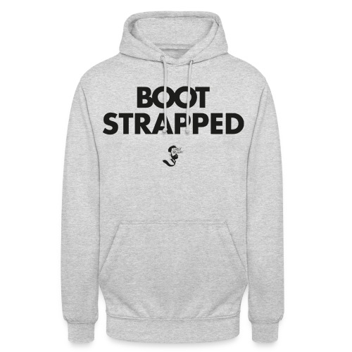 BOOT STRAPPED - Unisex Hoodie