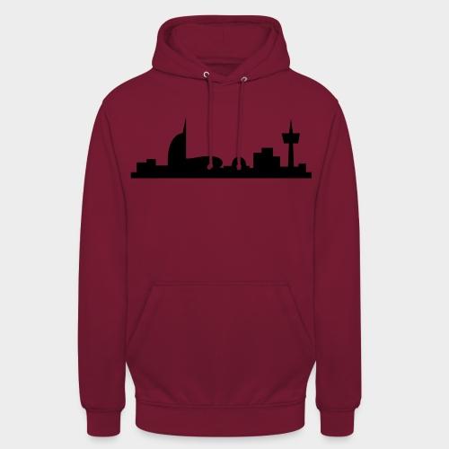Bremerhaven Skyline V2016 Full - Unisex Hoodie