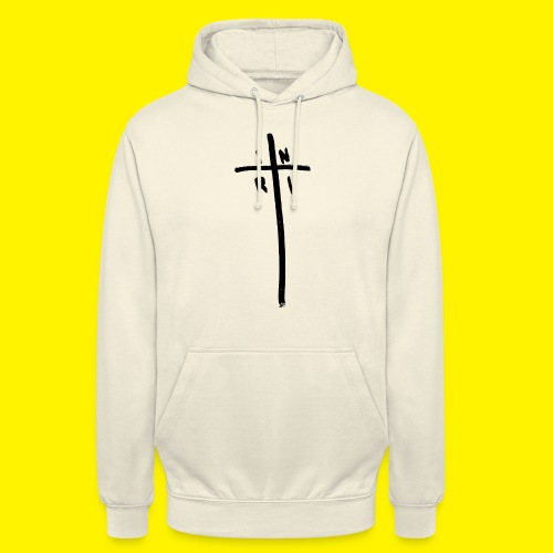 Cross - INRI (Jesus of Nazareth King of Jews) - Unisex Hoodie