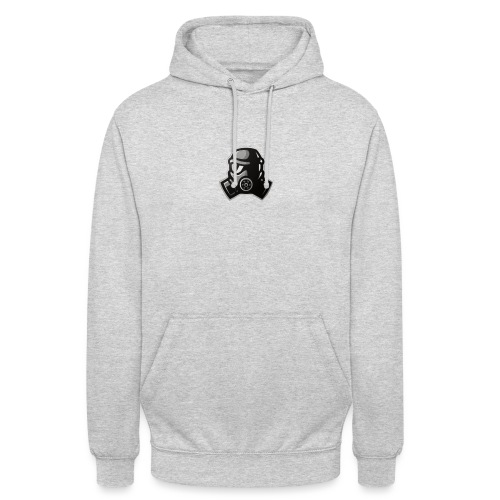 Sweat Noir et Blanc - Sweat-shirt à capuche unisexe