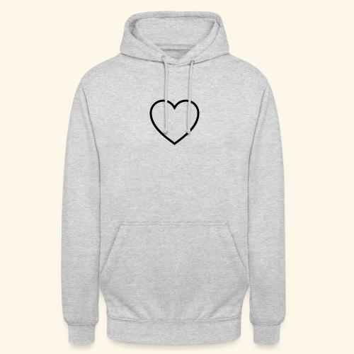 heart 512 - Hættetrøje unisex