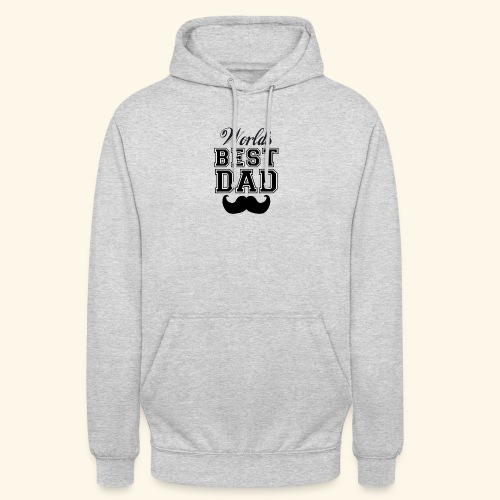 Worlds best dad - Hættetrøje unisex