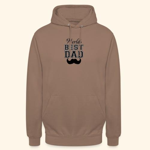 Worlds best dad - Hættetrøje unisex