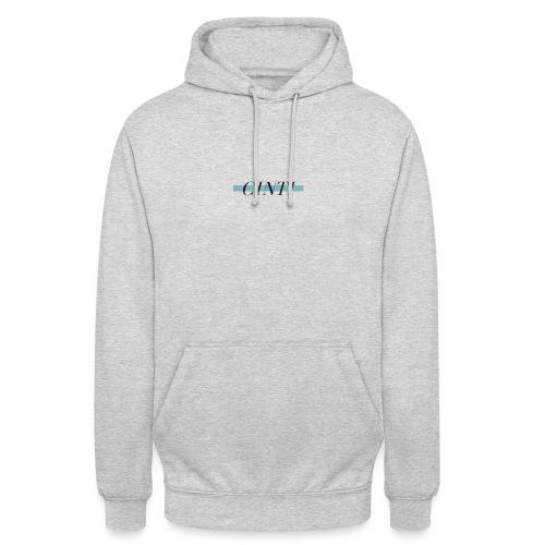 CINTI striped hoodie - Luvtröja unisex