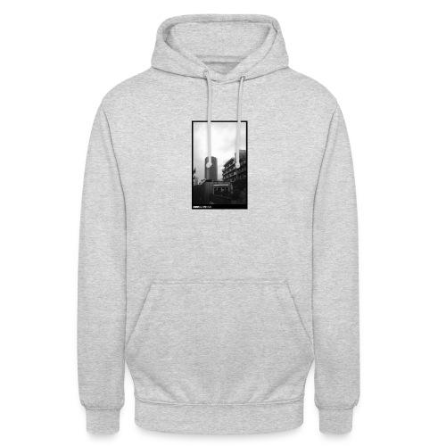 More tower graphic - Sweat-shirt à capuche unisexe