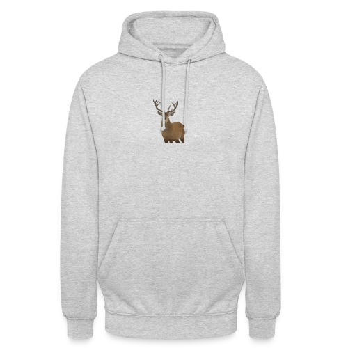 Cerf Low poly hoodie - Sweat-shirt à capuche unisexe