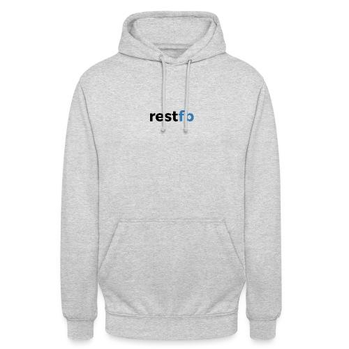 RestFB logo black - Unisex Hoodie