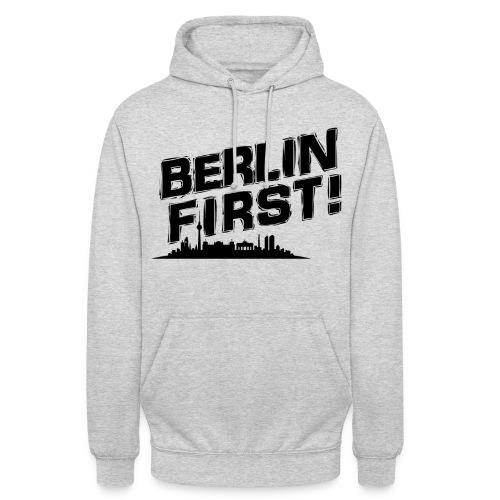 berlin01 png - Unisex Hoodie