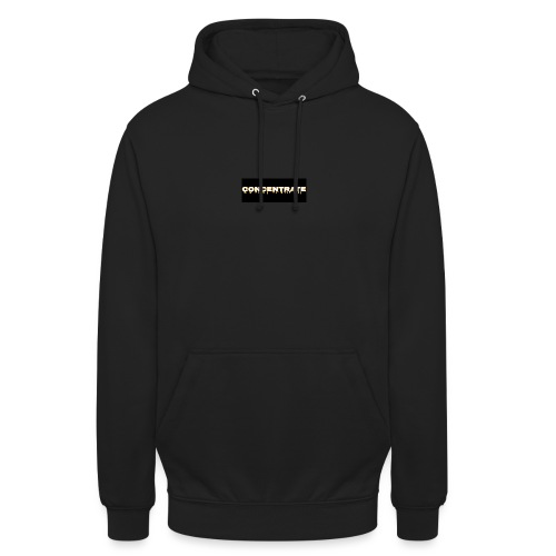 Concentrate on black - Unisex Hoodie