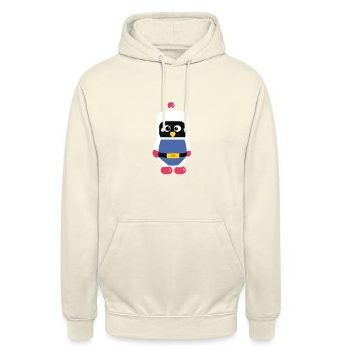 Pingouin Dyna - Sweat-shirt à capuche unisexe