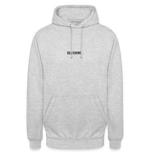 BEARDOWN Brand, classic, black - Unisex Hoodie