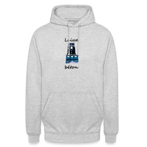 laisse_b--ton-png - Sweat-shirt à capuche unisexe